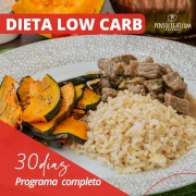 Dieta low carb (30 dias)