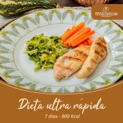 Dieta ultra rápida (7 dias)