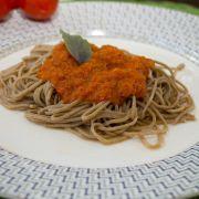 Espaguete de espinafre