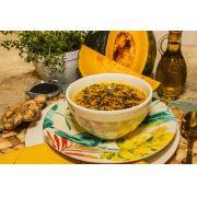 Sopa de Abóbora Cabotia e Gengibre