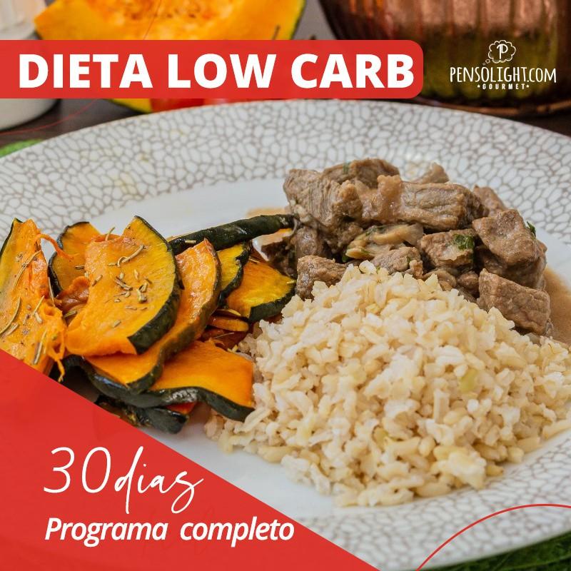 Dieta low carb (30 dias)