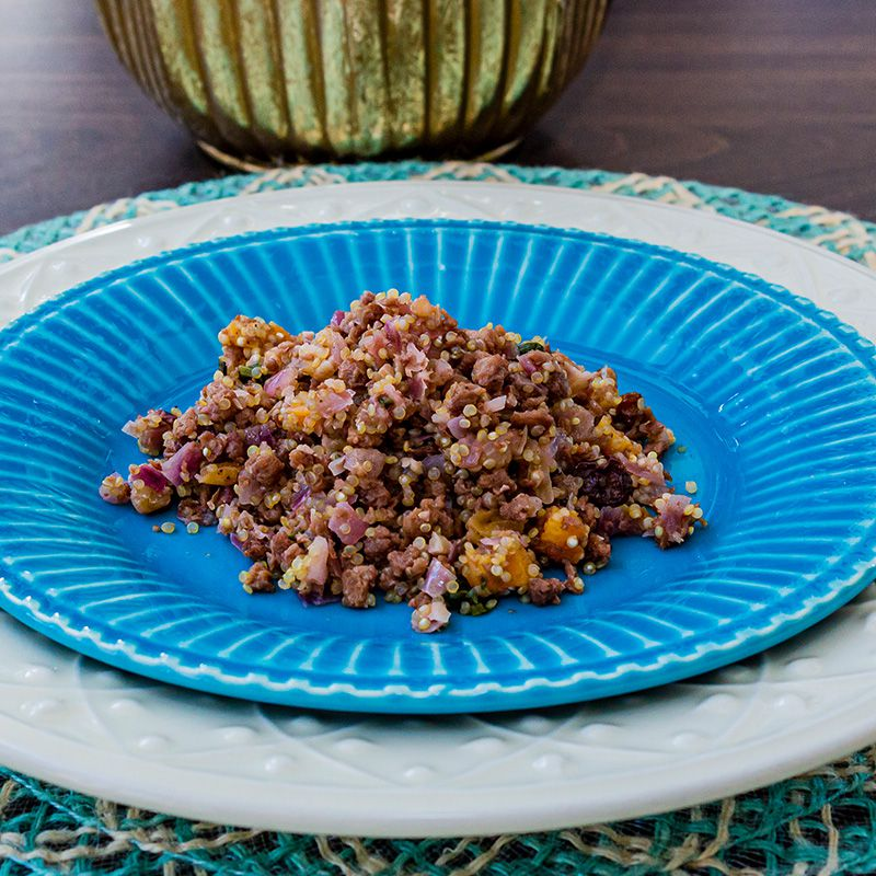 Farofa de quinoa