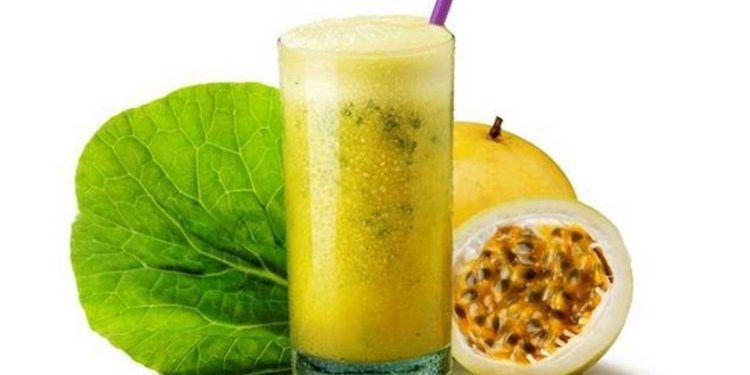 Suco de couve com maracujá - 250ml