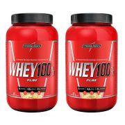 Combo 2 Whey 100% Pure Bs 907g Pote - Integralmedica