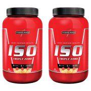 COMBO 2 WHEY ISO TRIPLE ZERO 907G - INTEGRALMEDICA