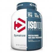 ISO 100 WHEY ISOLADO HYDROLYZED 2,3KG (5LBS) - DYMATIZEsabor baunilha