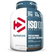 ISO 100 WHEY ISOLADO HYDROLYZED 2,3KG (5LBS) - DYMATIZEsabor chocolate