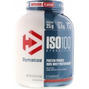 ISO 100 WHEY ISOLADO HYDROLYZED 2,3KG (5LBS) - DYMATIZEsabor morango