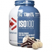 ISO 100 WHEY ISOLADO HYDROLYZED 2,3KG (5LBS) - DYMATIZEsabor Cookies e Cream