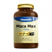MACA MAX MACA PERUANA 500MG 90CAPS - VITAMINLIFE