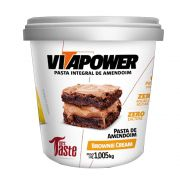 PASTA DE AMENDOIM BROWNIE CREAM 1005G - VITAPOWER