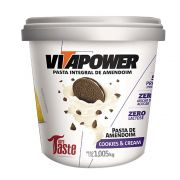 PASTA DE AMENDOIM COOKIES & CREAM 1005G - VITAPOWER