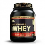 WHEY PROTEIN GOLD STANDARD 100% 1,09KG (2,4 LBS) - OPTIMUM NUTRITION - Vanilla ice cream
