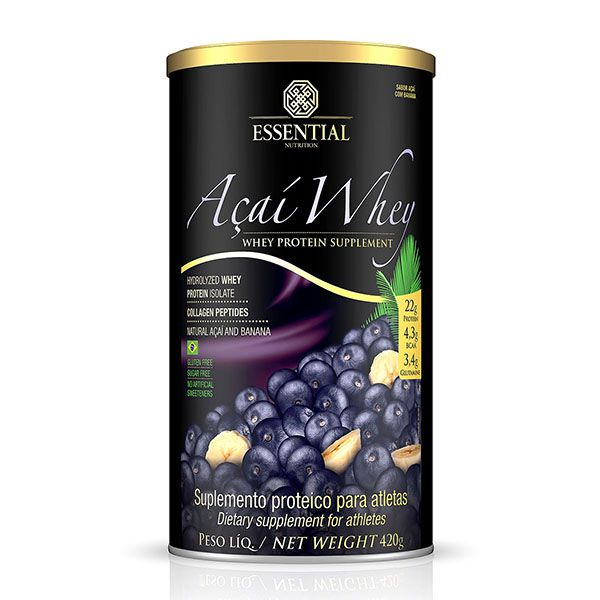 AÇAÍ WHEY 420G - ESSENTIAL NUTRITION