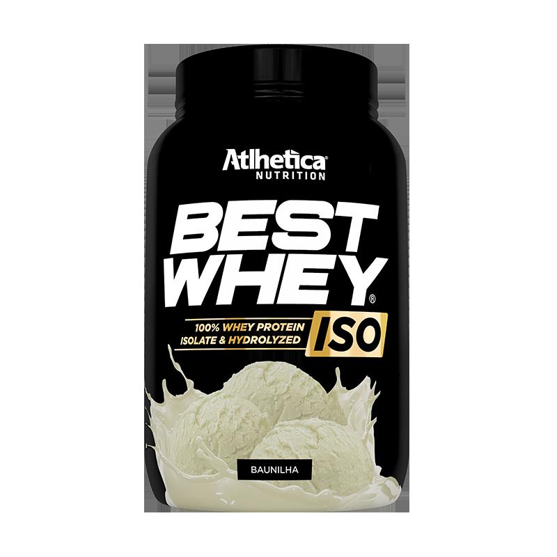ATLHETICA BEST WHEY ISO BAUNILHA 900G