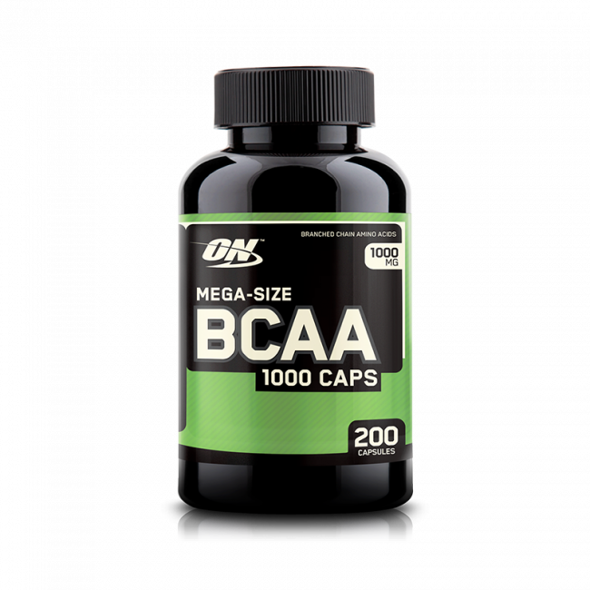 BCAA 1000 MG 200 CAPS - OPTIMUM NUTRITION