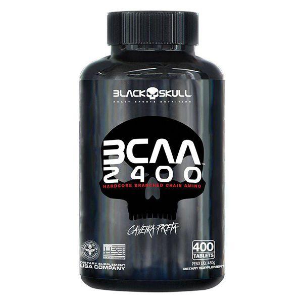 BCAA 2400 400TAB - BLACK SKULL