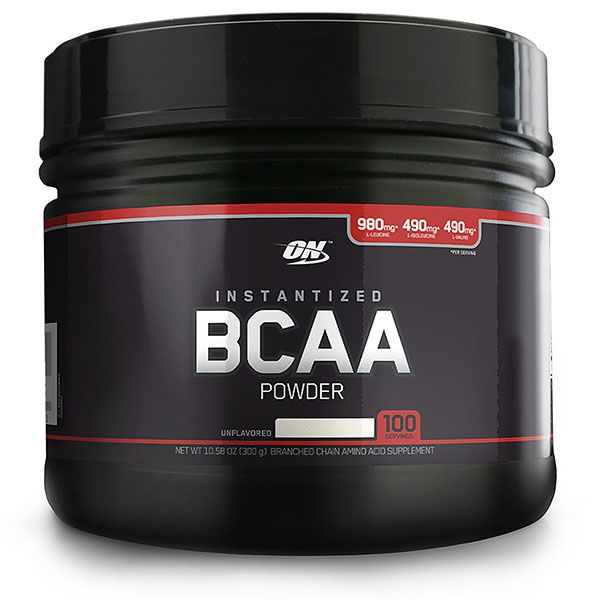BCAA POWDER BLACK LINE 300G - OPTIMUM NUTRITION