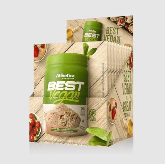 BEST VEGAN SACHÊ 35G - ATLHETICA NUTRITION