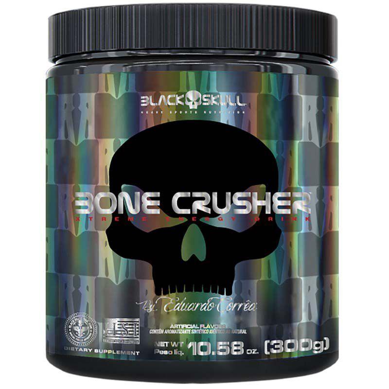 BONE CRUSHER 300G BY EDUARDO CORRÊA - BLACK SKULL