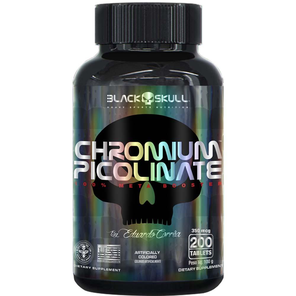 CHROMIUM PICOLINATE 200TAB - BLACK SKULL