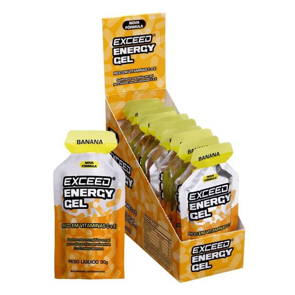 EXCEED 10 UNI ENERGY GEL 300G BANANA (10X30G) - ADVANCED NUTRITION