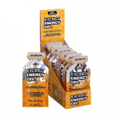 EXCEED 10 UNI ENERGY GEL 300G BAUNILHA (10X30G) - ADVANCED NUTRITION