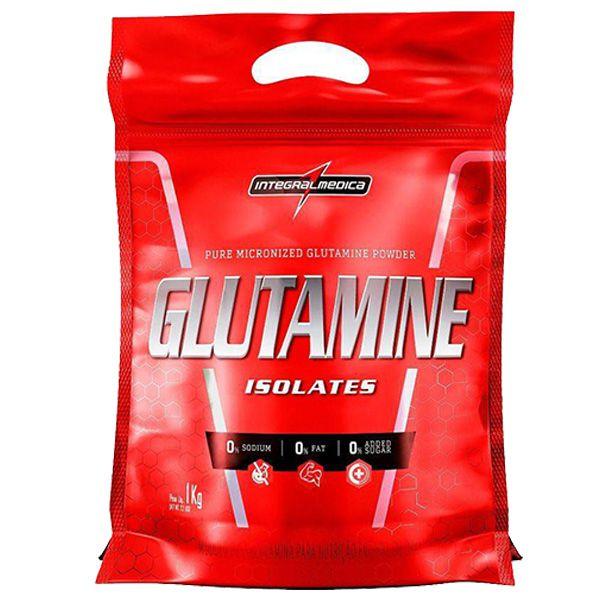 GLUTAMINE ISOLATES REFIL 1000G - INTEGRALMEDICA