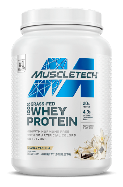 GRASS FED 100% WHEY PROTEIN 816G - MUSCLETECH