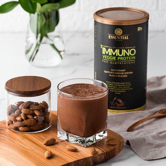 IMMUNO VEGGIE PROTEIN CACAO 512,4G - ESSENTIAL NUTRITION