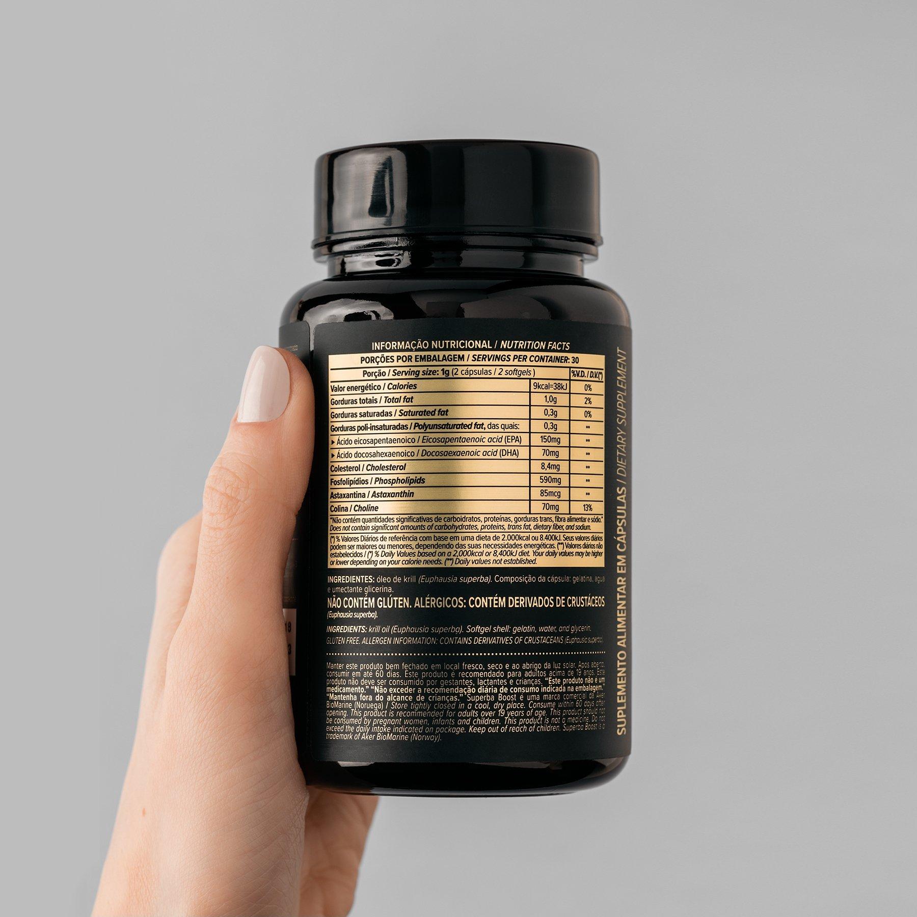 KRILL OIL 60 CÁPSULAS - ESSENTIAL NUTRITION