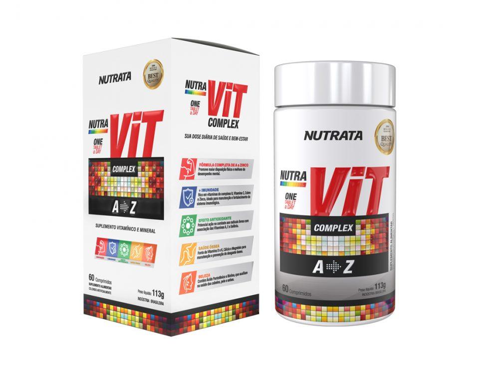 NUTRAVIT COMPLEX 60CAPS - NUTRATA