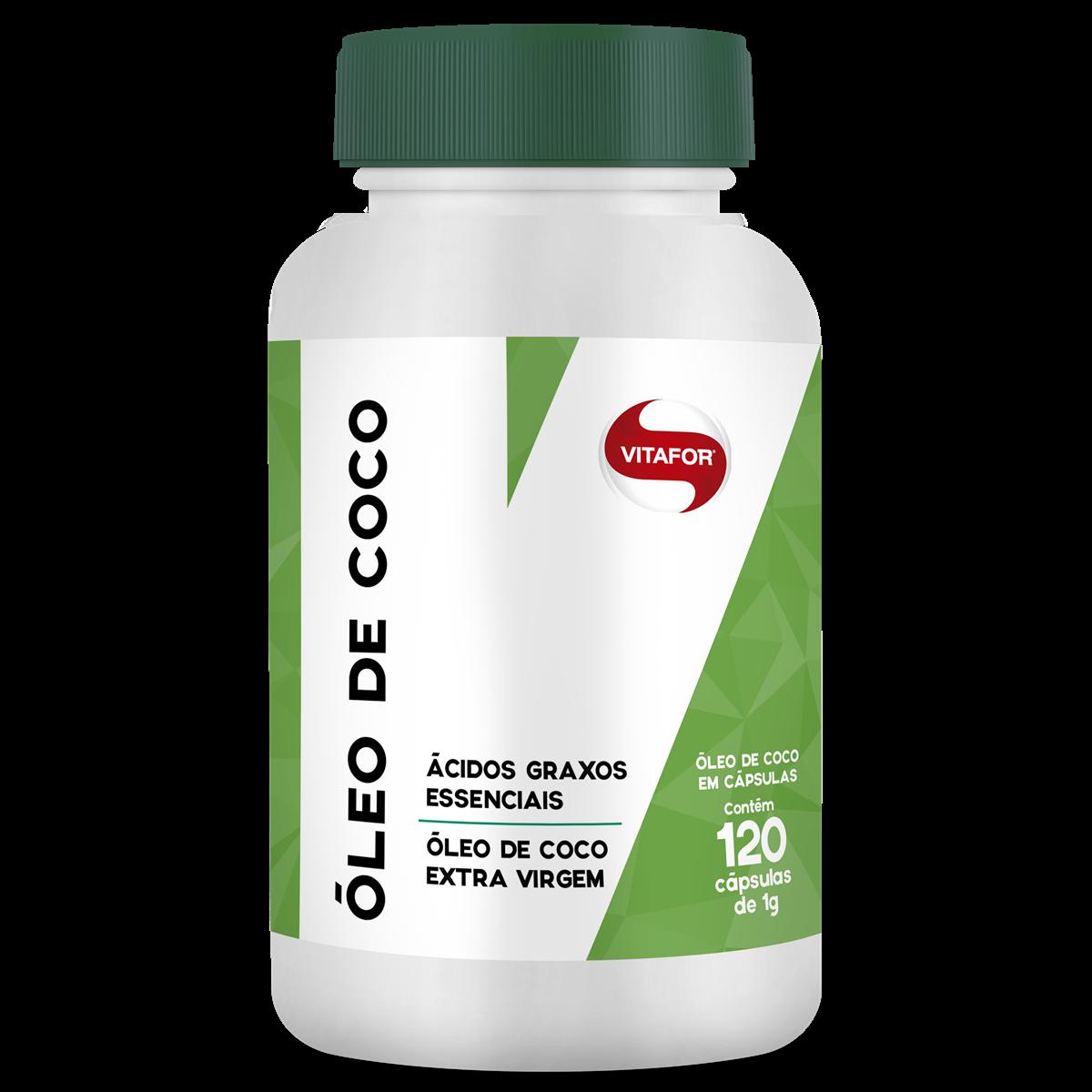 OLEO DE COCO 120 CAPSULAS - VITAFOR