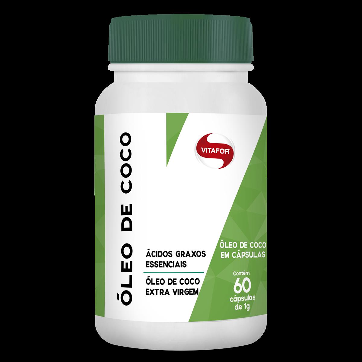 OLEO DE COCO 60 CAPS - VITAFOR