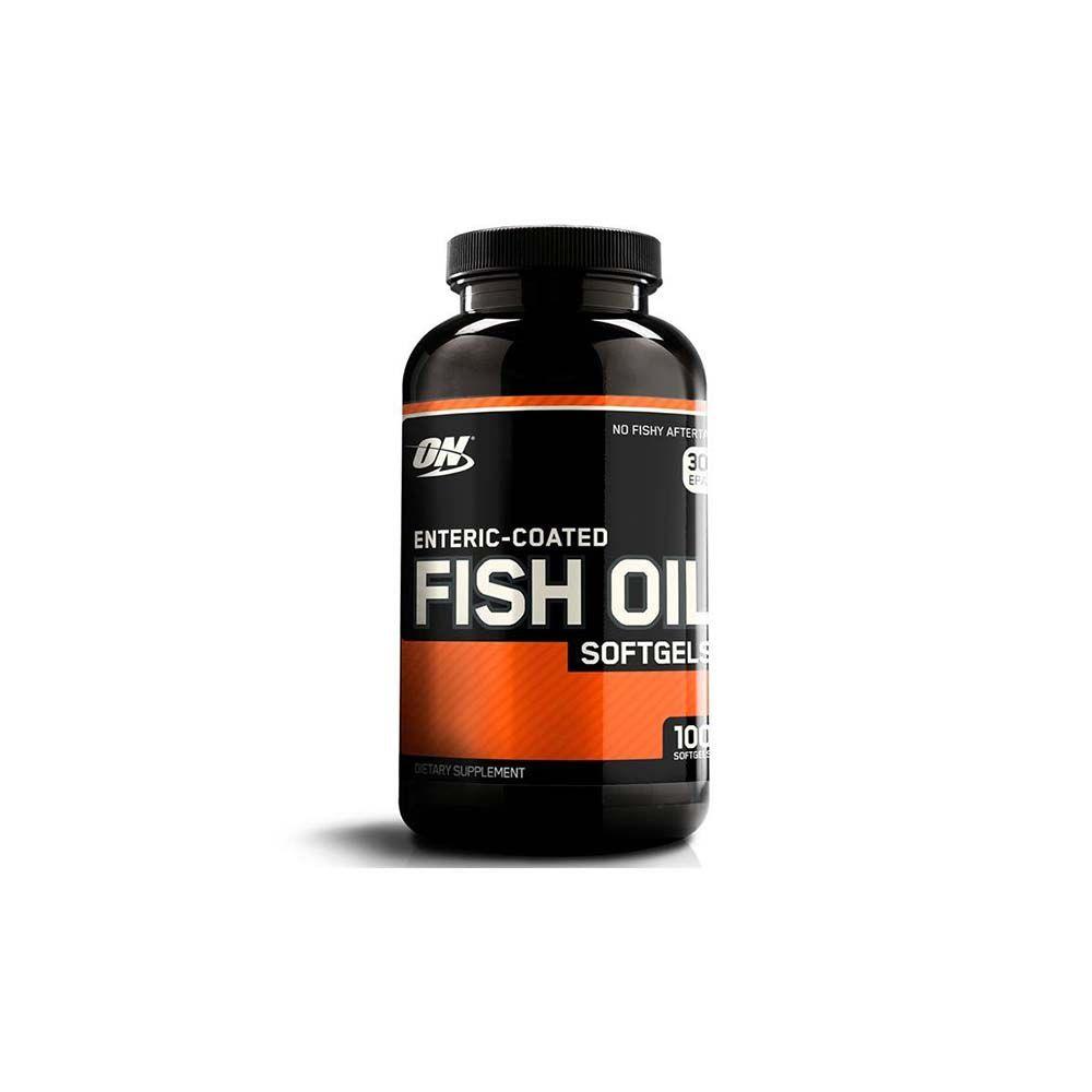 ÔMEGA 3 ÓLEO DE PEIXE FISH OIL 100 CAPS - OPTIMUM NUTRITION
