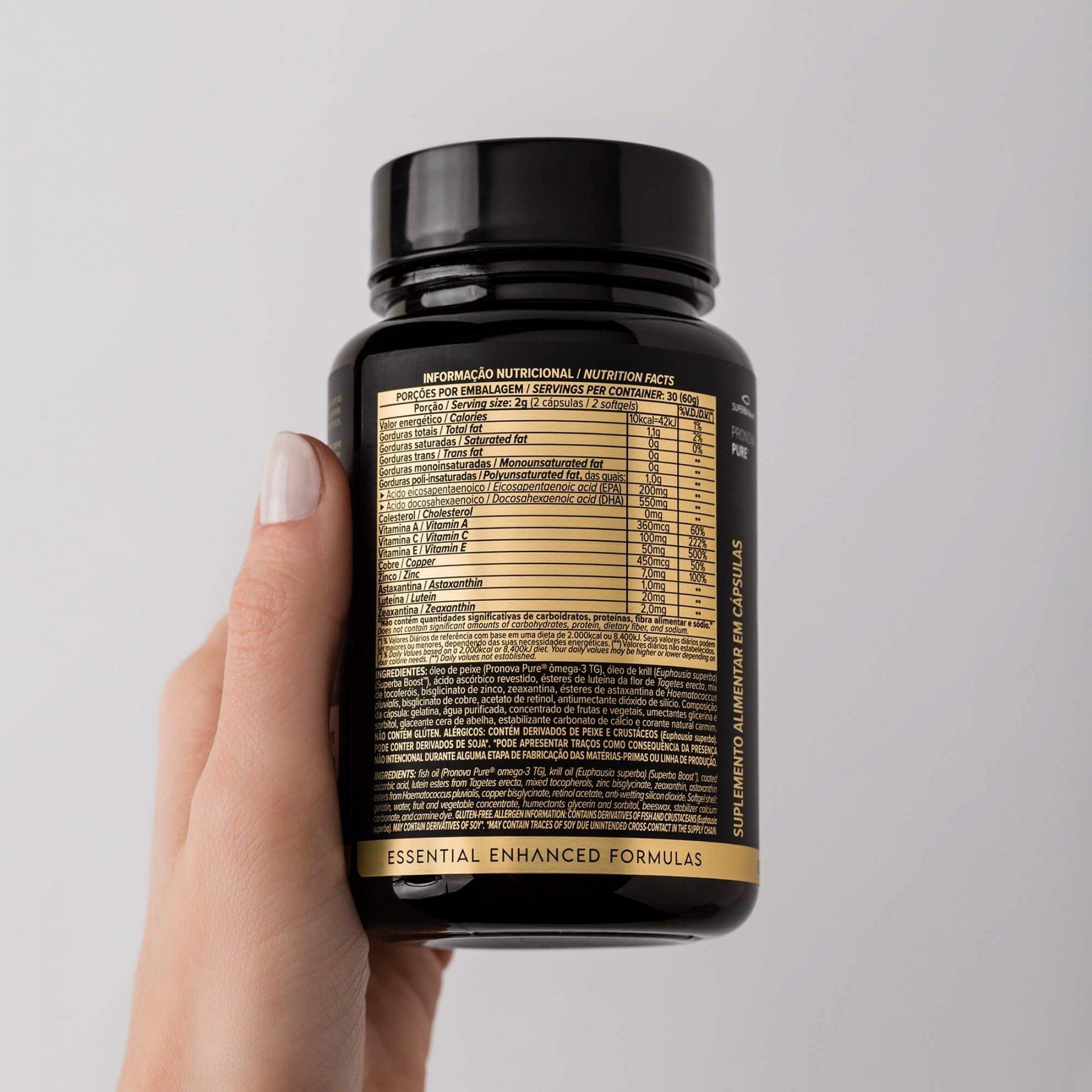 OMEGA VISION 60 Cápsulas - ESSENTIAL NUTRITION