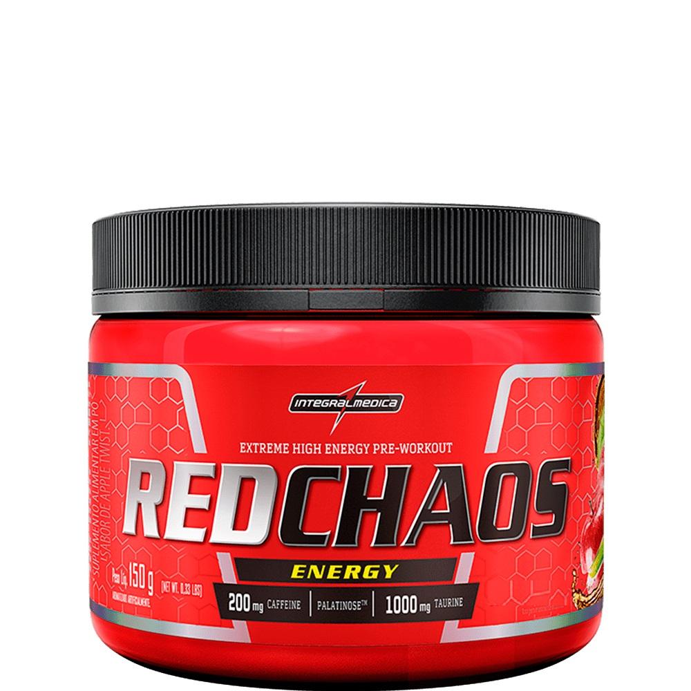 RED CHAOS ENERGY PRÉ TREINO 150G - INTEGRALMEDICA