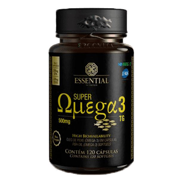 SUPER OMEGA 3 TG 120CAPS - ESSENTIAL NUTRITION