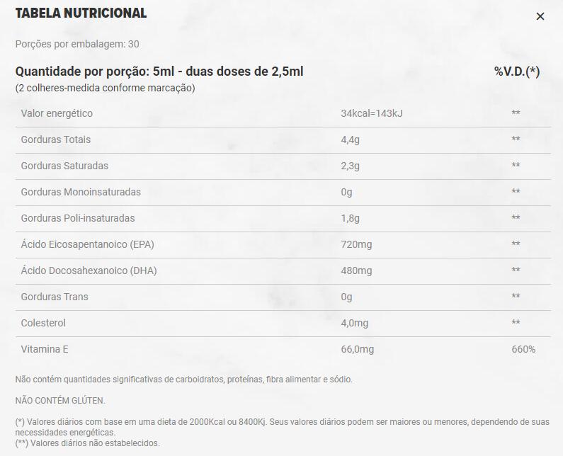 SUPER OMEGA 3 TG 150ML - ESSENTIAL NUTRITION