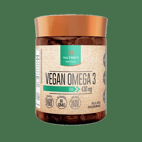 VEGAN ÔMEGA 3 DHA 60CAPS - NUTRIFY