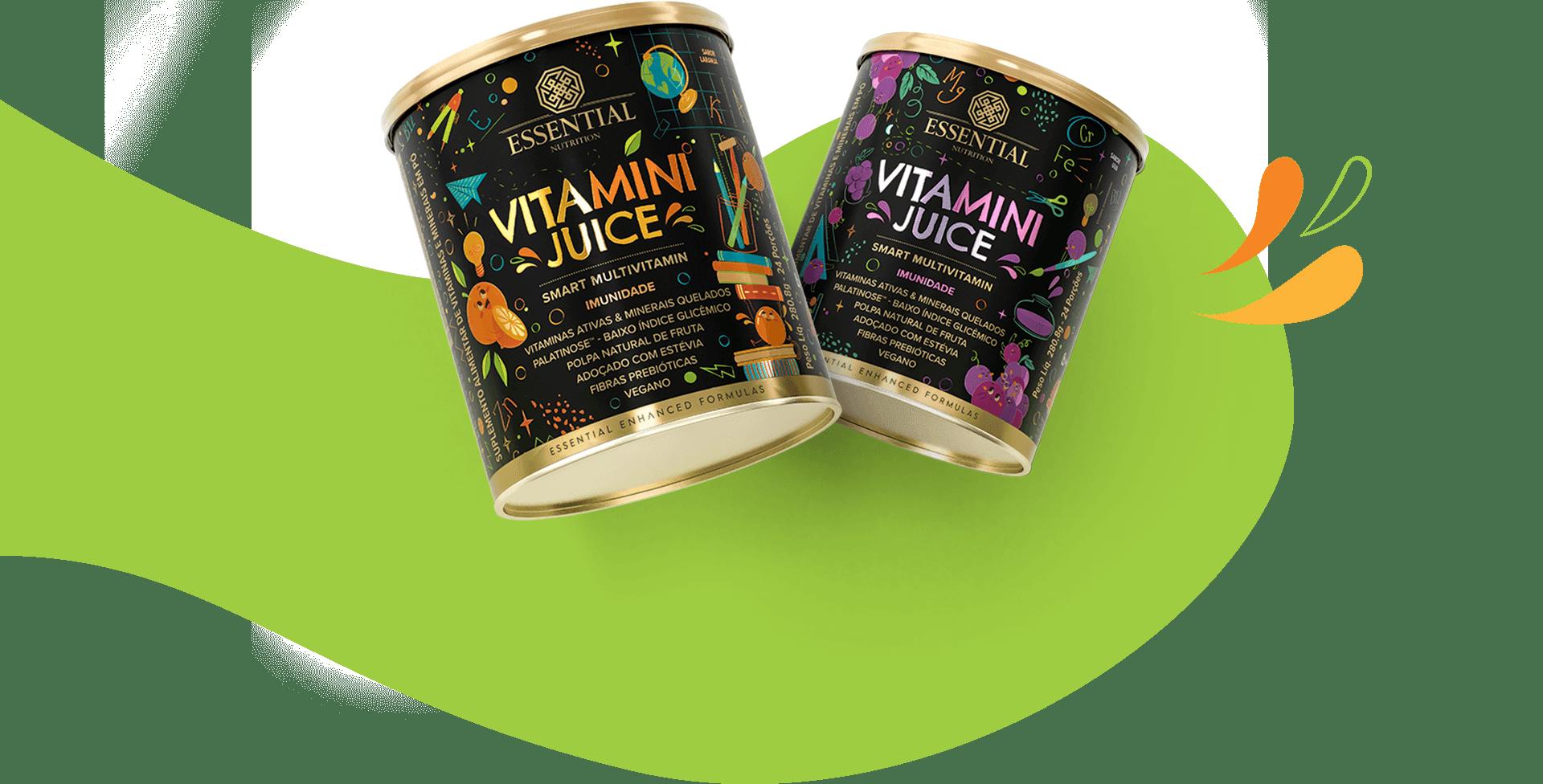 VITAMINI JUICE 280,8g/24 DOSES - ESSENTIAL NUTRITTION