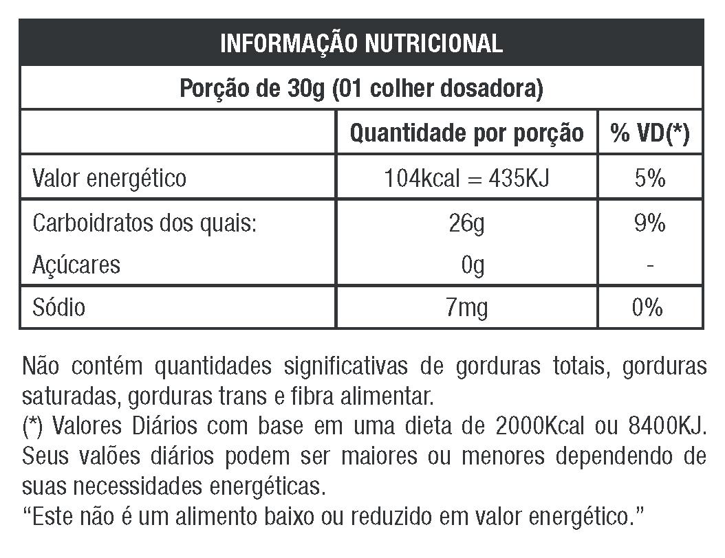 WAXY MAIZE NATURAL 1.05KG - NUTRATA