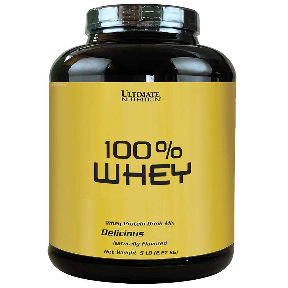 WHEY 100% 2270G (5LBS) - ULTIMATE NUTRITION
