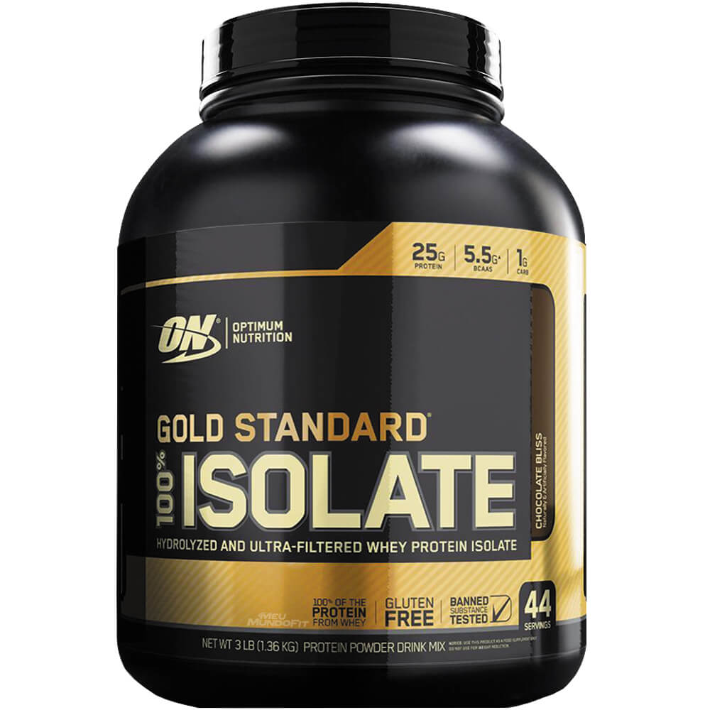 WHEY 100% ISOLATE GOLD 1,3KG CHOCOLATE - OPTIMUM NUTRITION