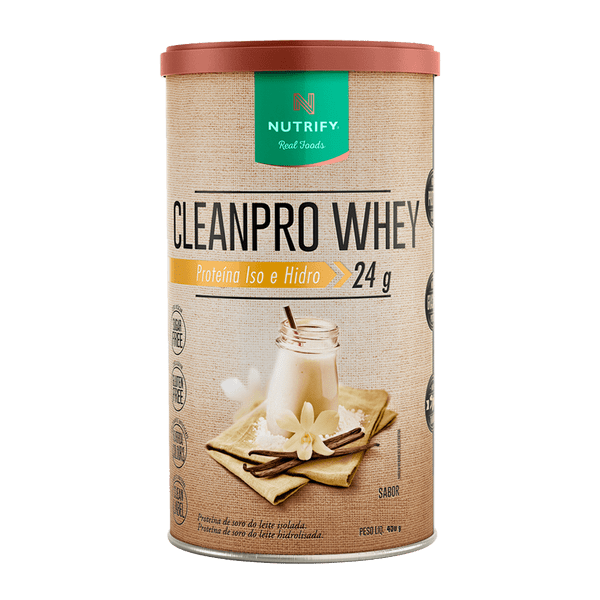 WHEY CLEANPRO 450G - NUTRIFY