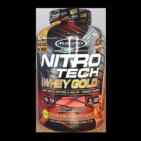 WHEY PROTEIN NITRO GOLD 2.5KG - MUSCLETECH