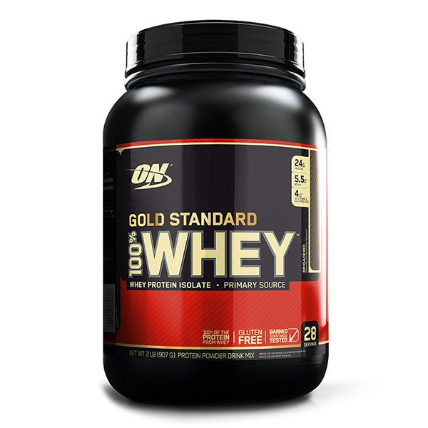 WHEY PROTEIN GOLD STANDARD 907G (2LB) - OPTIMUM NUTRITION