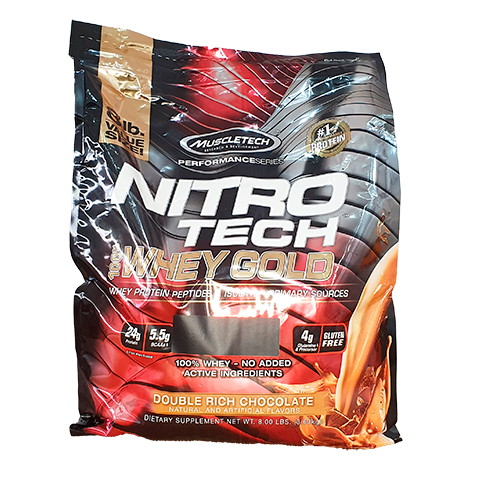 WHEY PROTEIN NITRO GOLD 3.63KG - MUSCLETECH
