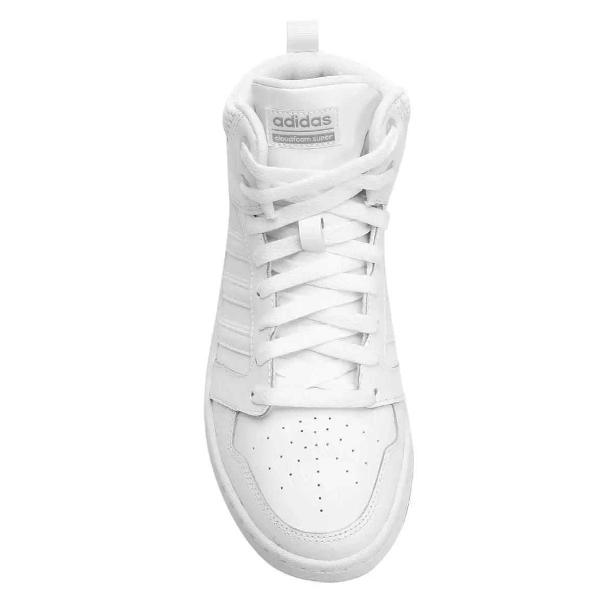 Tenis Adidas CF Super Hoops Mid W Branco