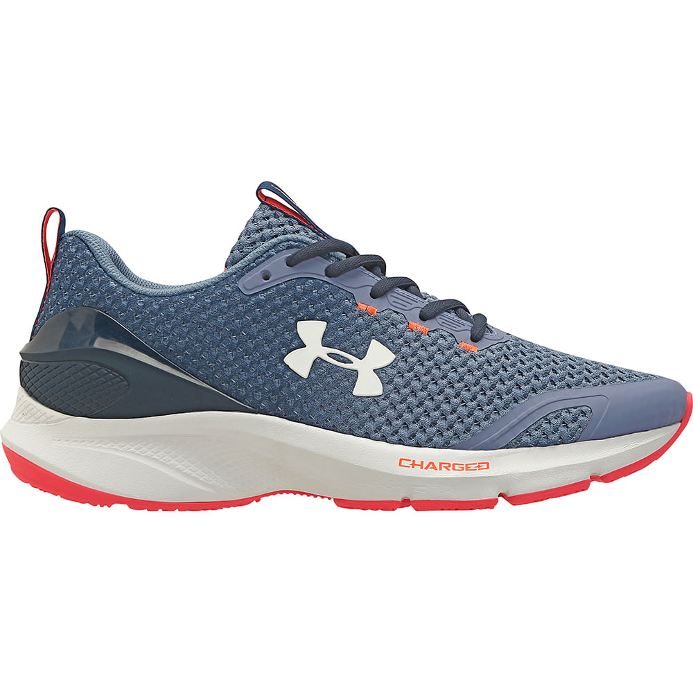 Tenis Under Armour Charged Prompt - Azul/Branco